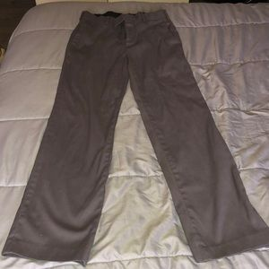 Men's Dress Pants 30x32 Gray